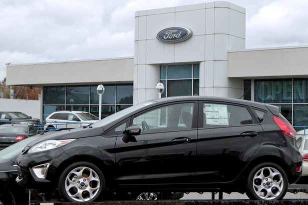 10. Ford Fiesta - 5500 pojazdów zarejestrowanych w 2011 roku