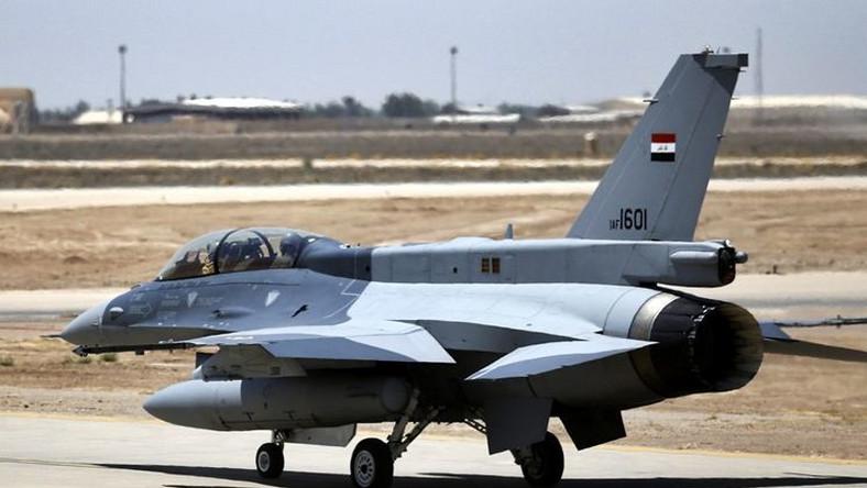 Iracki myśliwiec F-16