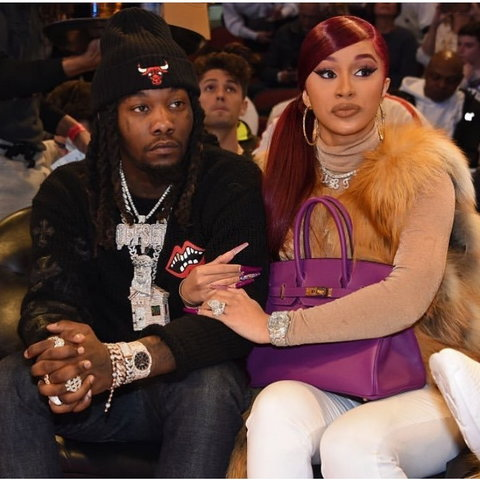 Cardi B says Offset is not expecting a child with another woman. [Instagram/IamCardiB]