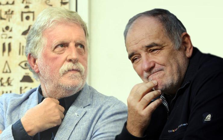 Peca Popović i Đođe Balašević