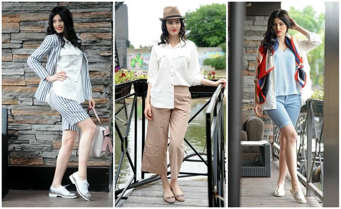 Bela i lanena košulja je letnji modni standard