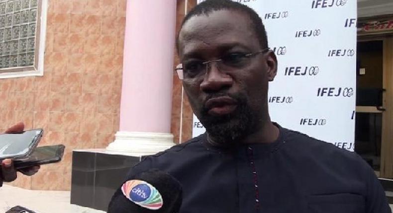 Edwin Nii Obadai Provencal, Managing Director of BOST