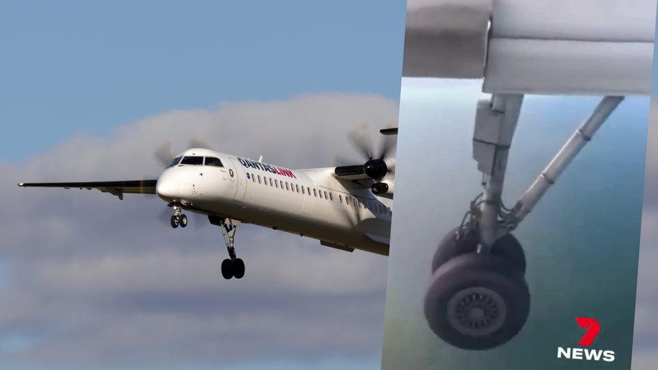 Samolot Qantaslink był zmuszony do awaryjnego lądowania