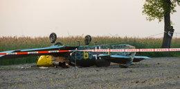 Wypadek awionetki. Pilot lądował na polu