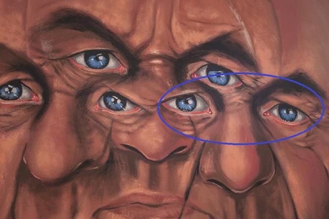 Lice u plavom krugu