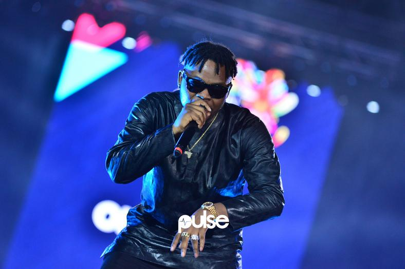 Olamide performing at Born In Africa Festival 2018