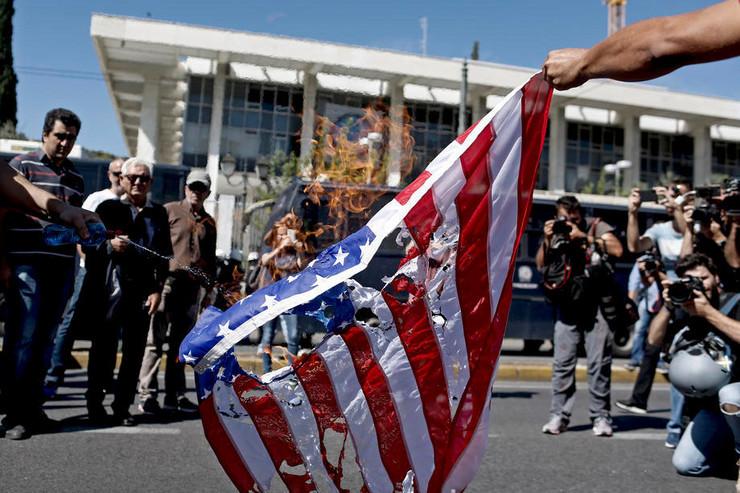 Grčka protest zbog Pompea