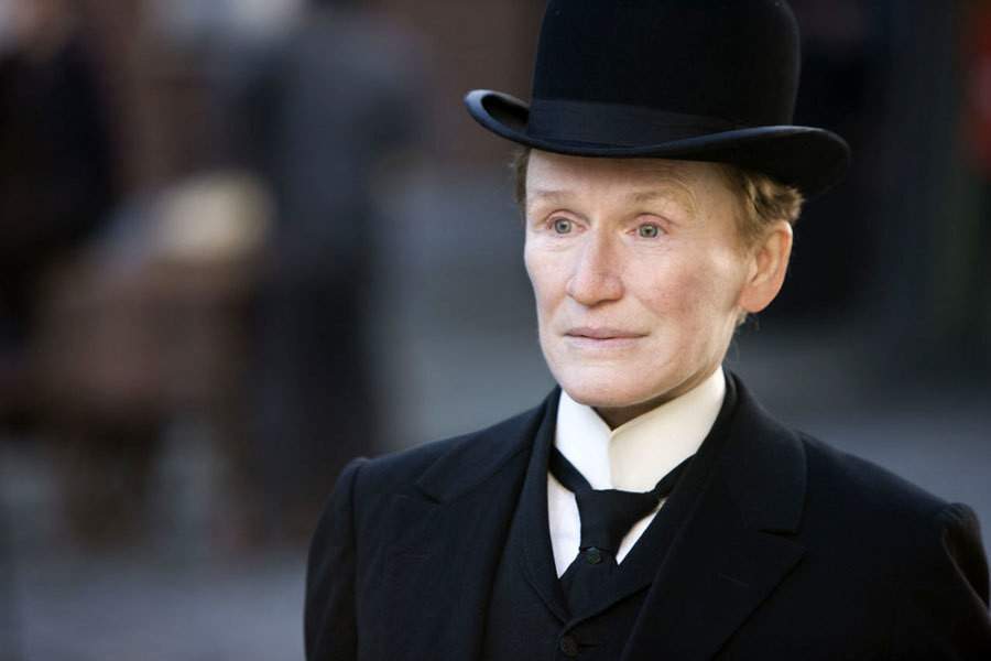 "Glenn Close jako Albert Nobbs w filmie ""Albert Nobbs"" (2011)"