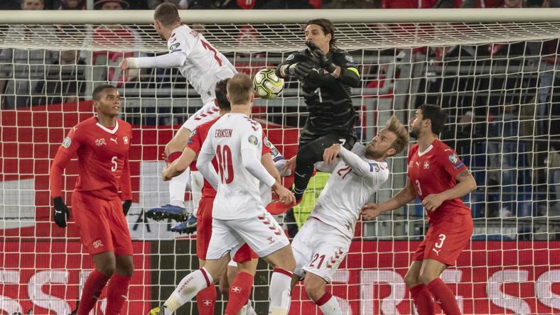 Bramka dla Danii w doliczonym czasie gry