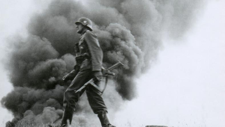 Niemiecki żołnierz II wojna światowa
