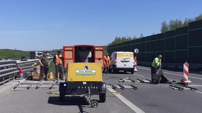 Autostrada A1 – już w ten weekend zakończą się utrudnienia w okolicach Łodzi