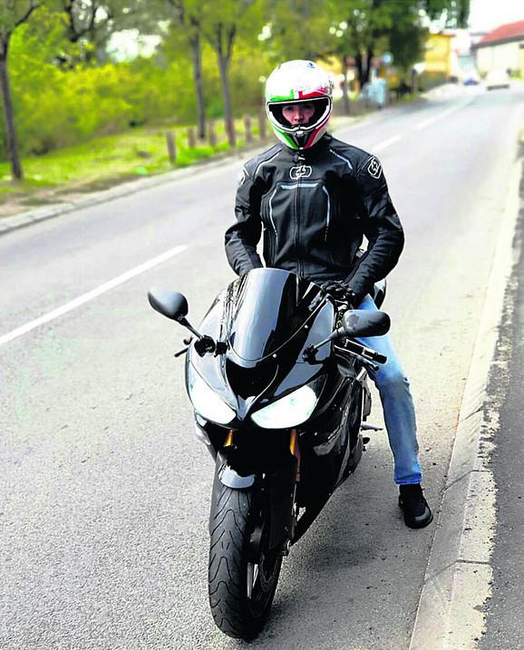 Aleksandar Eskić bio zaljubljenik u motore
