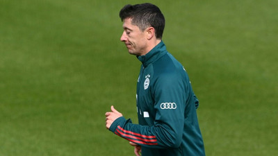Record-hunting Lewandowski leaves Bayern training early