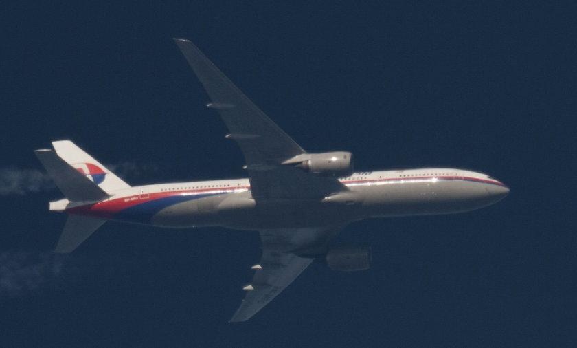 zaginiony malezyjski samolot