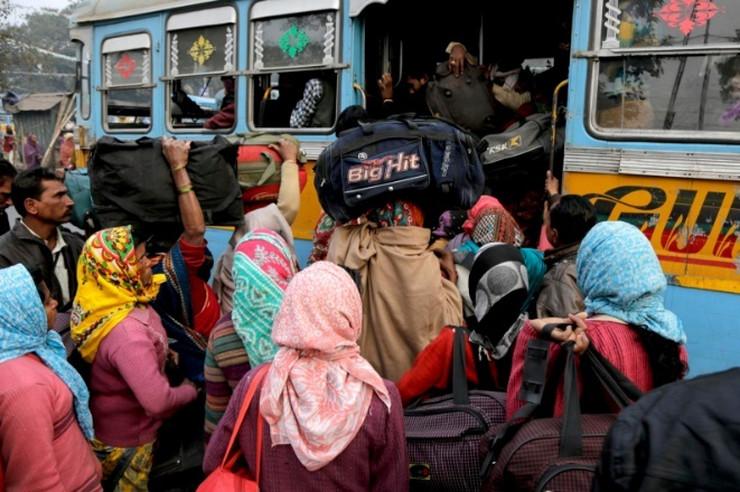 indija autobus