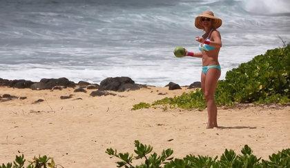 Britney Spears w bikini na Hawajach. Wraca do formy!