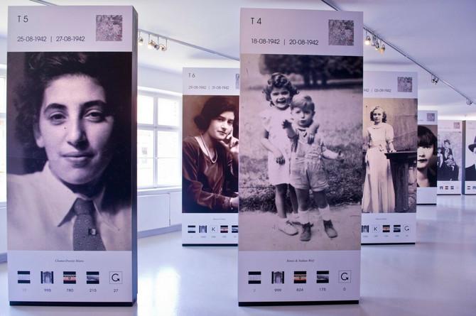 Fotografije žrtava u memorijalnom centru Aušvic