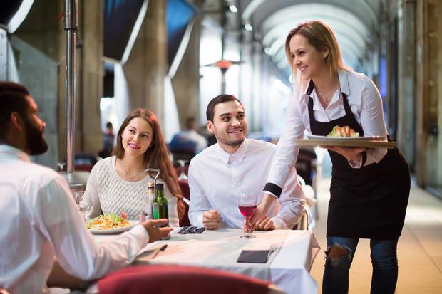 Praca jako kelner