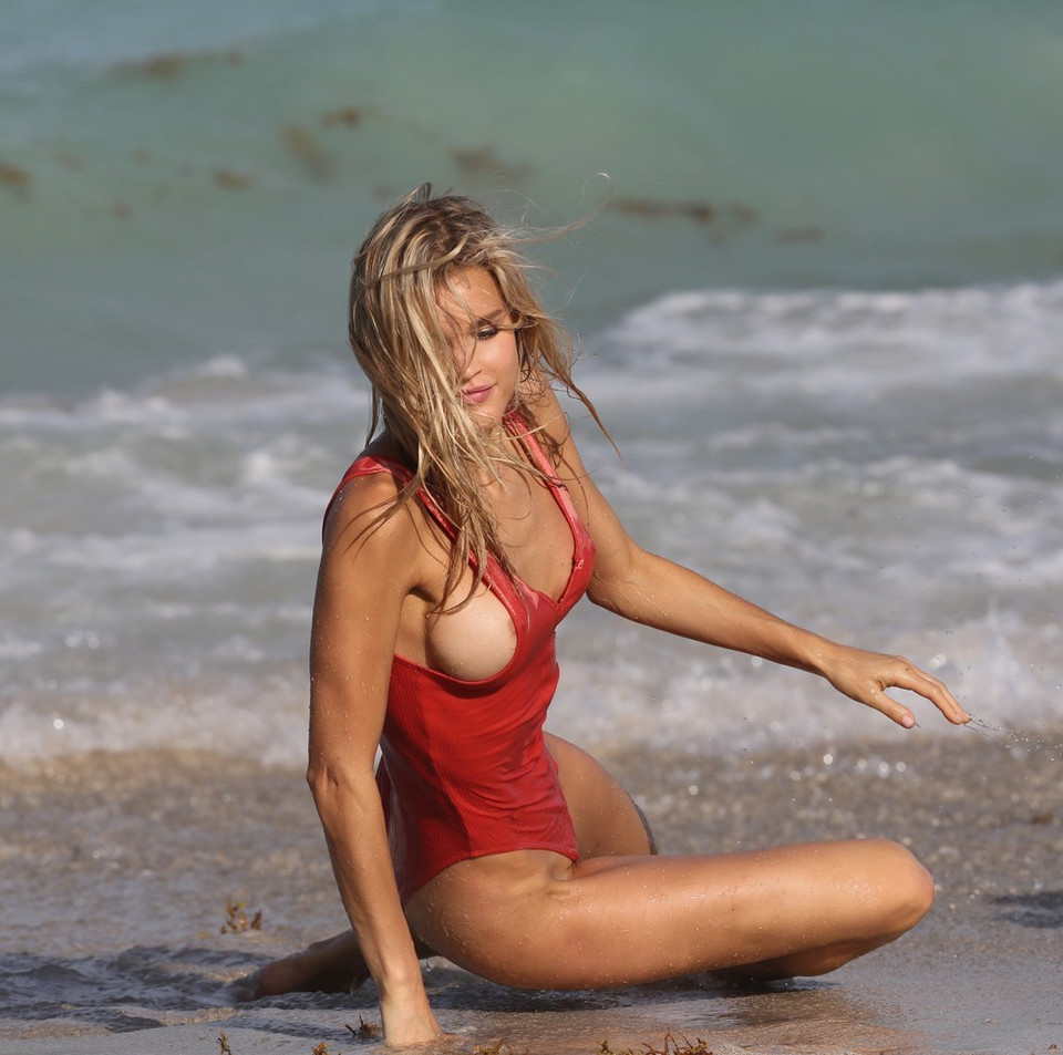 Joy Corrigan, modelka Sports Illustrated - Miami