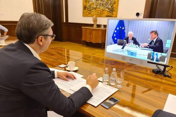 NAKON 20 MJESECI: Videokonferencijom obnovljen dijalog Srbije i Kosova