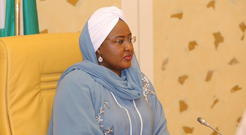 Aisha Buhari shuts down office of the First Lady due to Coronavirus