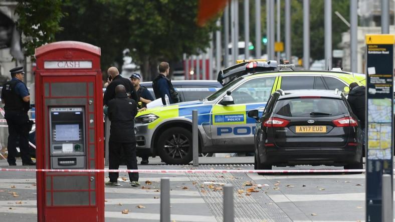 Incydent w Londynie