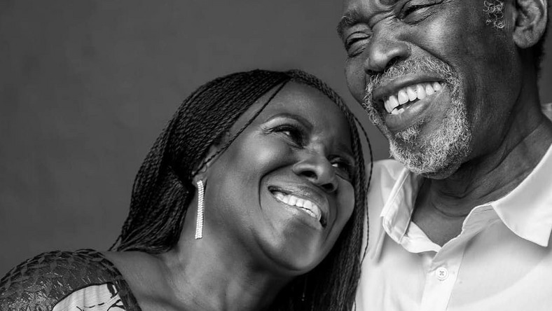 Today is Olu Jacobs' birthday you've got to read the adorable message he got from his wife, Joke Silva [Instagram/AjokeSilva]