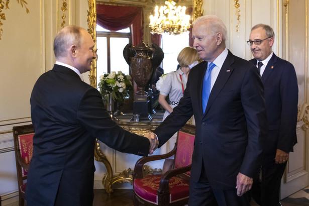 Spotkanie Joe Bidena i Władimira Putna