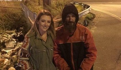 Niezwykły gest bezdomnego. Oddał 27-latce ostatnie pieniądze