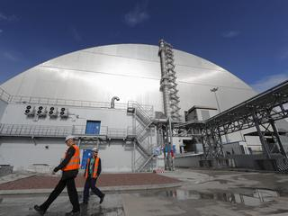 The transfer of the new safe confinement from Novarka to the Chernobyl Nuclear Power Plant for exploitation.