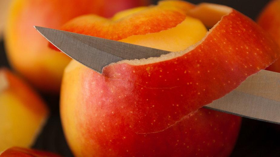 Ocet jabłkowy z obierek