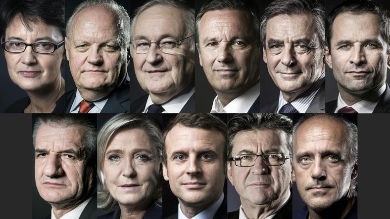 Kandydaci we francuskich wyborach prezydenckich