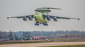 """A-100: Rosyjski """"latający radar"""" wzbił się w powietrze"""