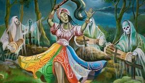 Oya leads dead people to the afterlife [yagbeonilu]