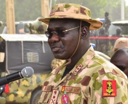 Chief of Army Staff, Nigeria, Lt. Gen. Tukur Burata