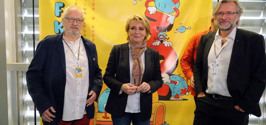 Grzegorz Rosiński obdarował Łódź.  Autor Thorgala i Kapitana Żbika przyjechał na Festiwal Komiksu