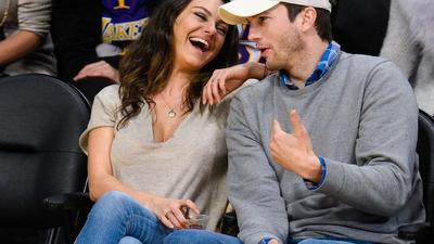 Ashton Kutcher and Mila Kunis say they only bathed their kids when they were visibly dirty