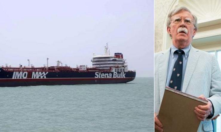 Džon Bolton britanski tanker ap