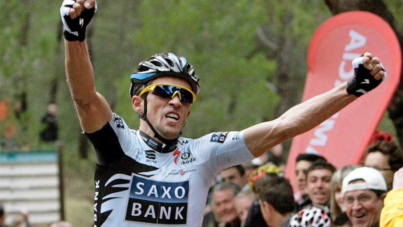 Oczyszczony Contador wygrał wyścig Dookoła Murcji