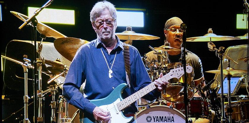 """Eric Clapton nie chce grać koncertów tylko dla zaszczepionych. """"To dyskryminacja"""""""