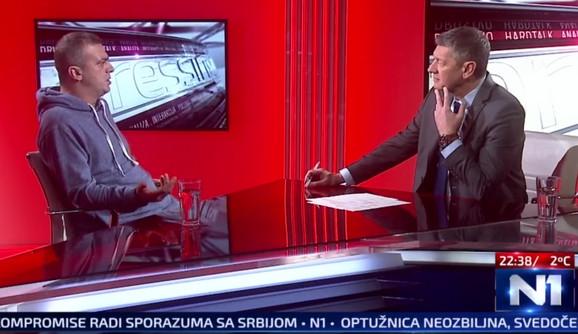 Sergej Trifunović kod Jugoslava Ćosića