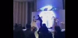 Pan młody upokorzył żonę na weselu. Wszyscy to zobaczyli!