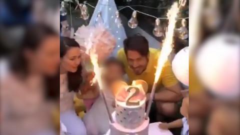Nikola i Bojana obeležili drugi rođendan njihove ćerke, a detalji slavlja će vas oduševiti!