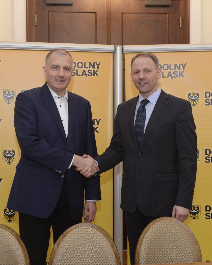 Rafał Dutkiewicz i Jacek Protasiewicz