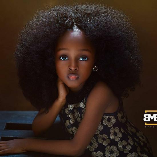 Mała Nigeryjka Została Okrzyknięta Najpiękniejszą Dziewczynką Na świecie