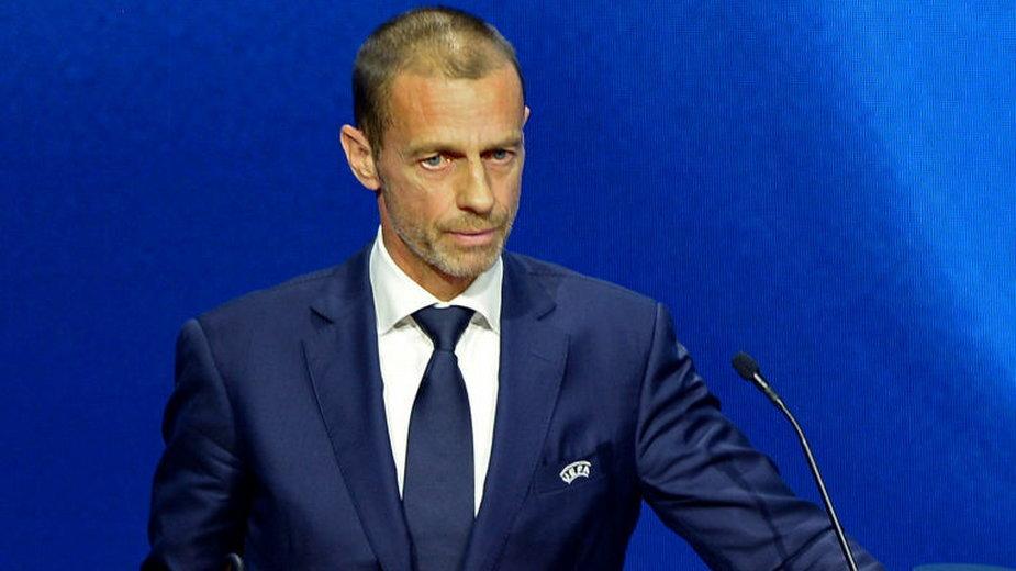 Aleksander Čeferin, prezydent europejskiej federacji piłkarskiej UEFA