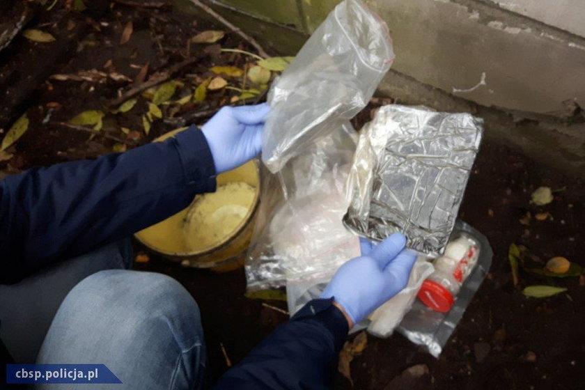 Narkotyki ukryte na posesji pod Płońskiem