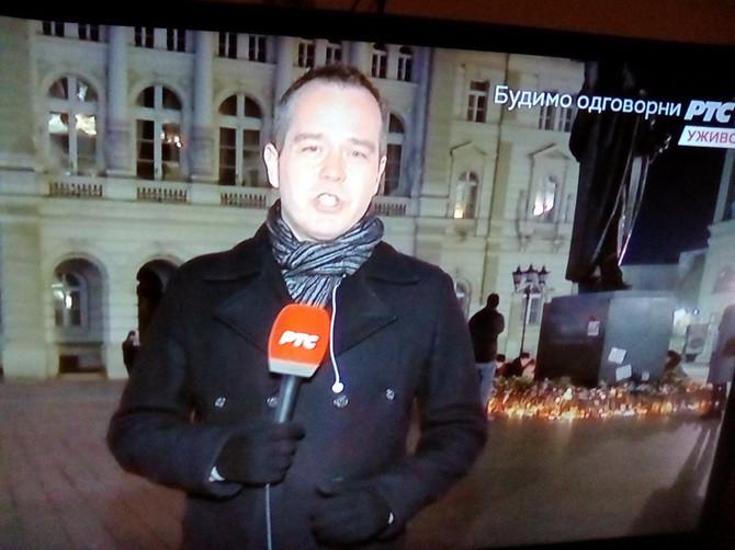 Reporter se uključio iz Novog Sada koji nikad nije bio tiši