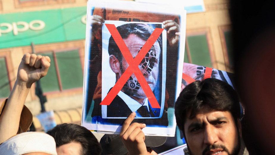 Protesty w Pakistanie przeciwko Francji