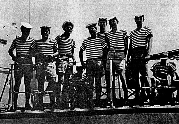 U Splitu 1978. na raketnom čamcu Rankov sin, Slobodan